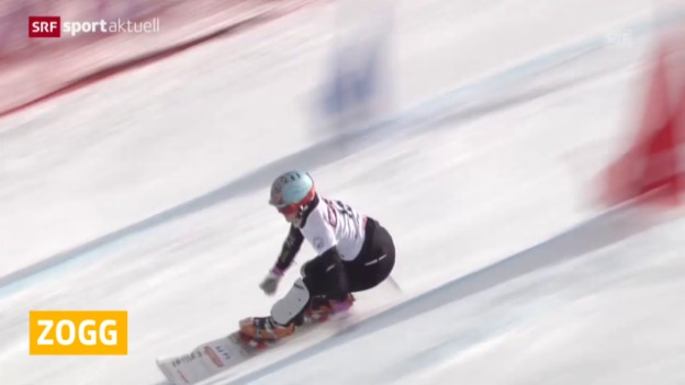 Video «Snowboard: Julie Zogg in Japan auf dem Podest» abspielen