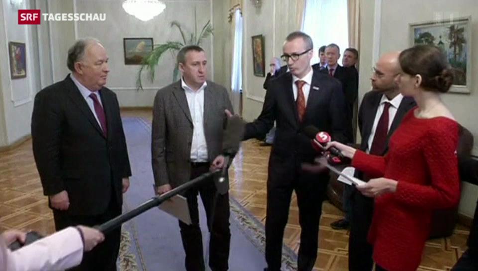 Schweizer Botschafter in der Ukraine informiert
