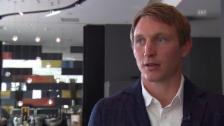 Video «Fussball: Källström über den Schweizer Fussball (Englisch) (01.08.2015)» abspielen