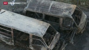 Video «Bürgerkriegsähnliche Geschehnisse im Irak» abspielen