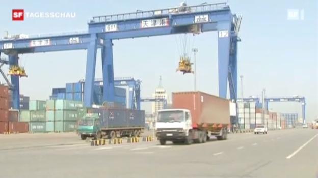 Video «China beunruhigt über «US-Schuldensucht»» abspielen