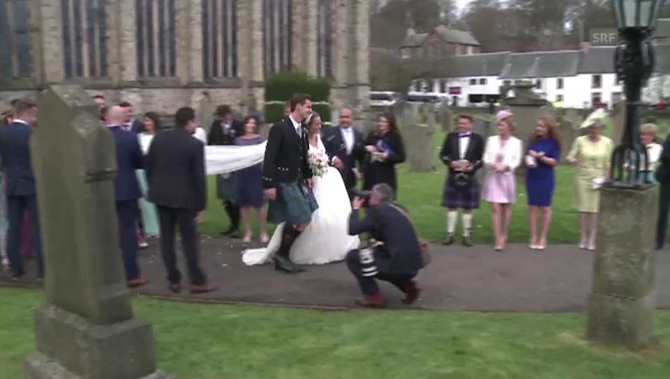 Andy Murray und Kim Sears haben geheiratet (unkomm.)