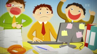 Video «Reto erklär's mir! – Grossraumbüros (2/5)» abspielen