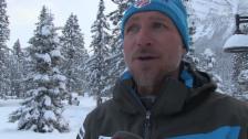 Video «Skli Alpin: Weltcup Lake Louise, Interview Stefan Abplanalp, Teil 1» abspielen