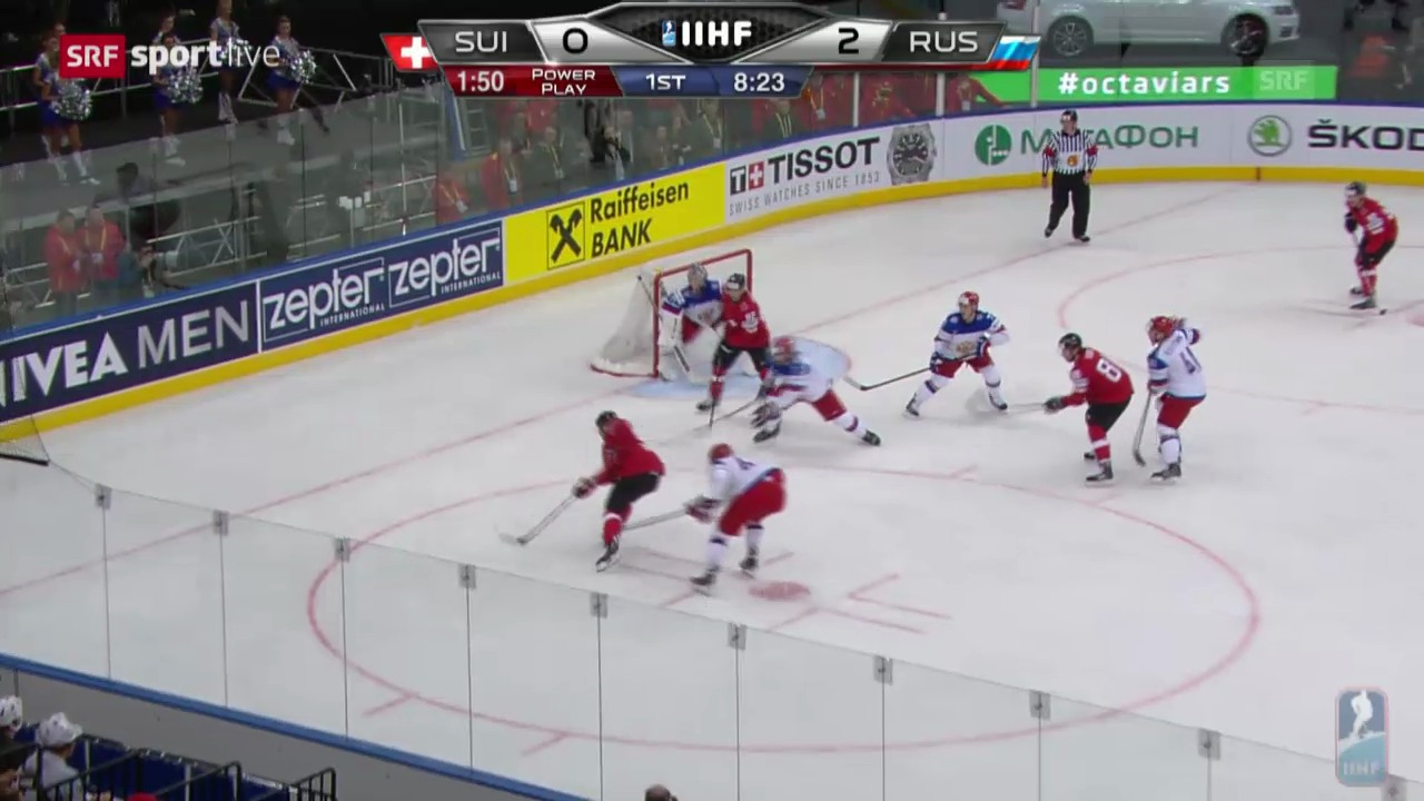 Eishockey: Highlights Schweiz - Russland