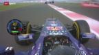 Video «Formel 1: Qualifying zum GP Indien» abspielen