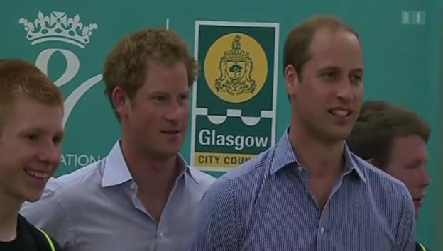 Video «Royaler Sport: Wie sich die Prinzen Harry und William verausgaben» abspielen