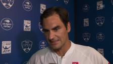 Link öffnet eine Lightbox. Video Federer: «Das ist mehr eine mentale Sache» abspielen