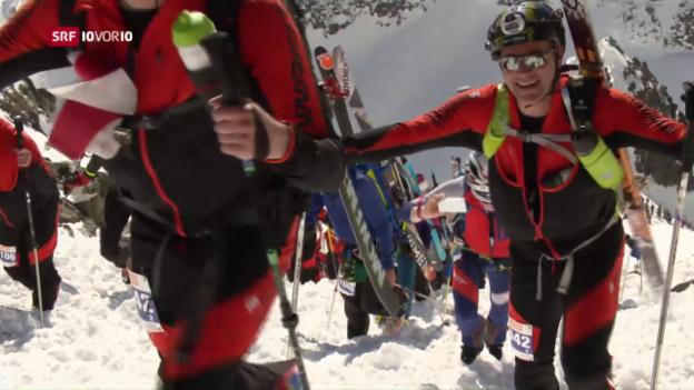 Video «Das härteste Skitourenrennen der Welt» abspielen