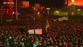 Video «Neuer Regierungschef in der Ukraine» abspielen