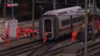 Video «Aufräumen am Bahnhof Basel» abspielen