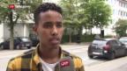 Video «Reaktion Eritreer in der Schweiz» abspielen