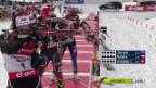 Video «Biathlon Hochfilzen: Gasparin mit vier Fehlern im Stehendschiessen («sportlive», 08.12.2013)» abspielen