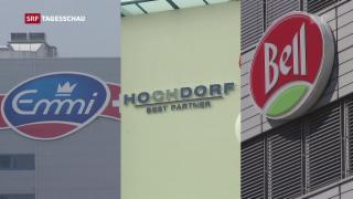 Video «Schweizer Lebensmittelbranche setzt auf Export» abspielen