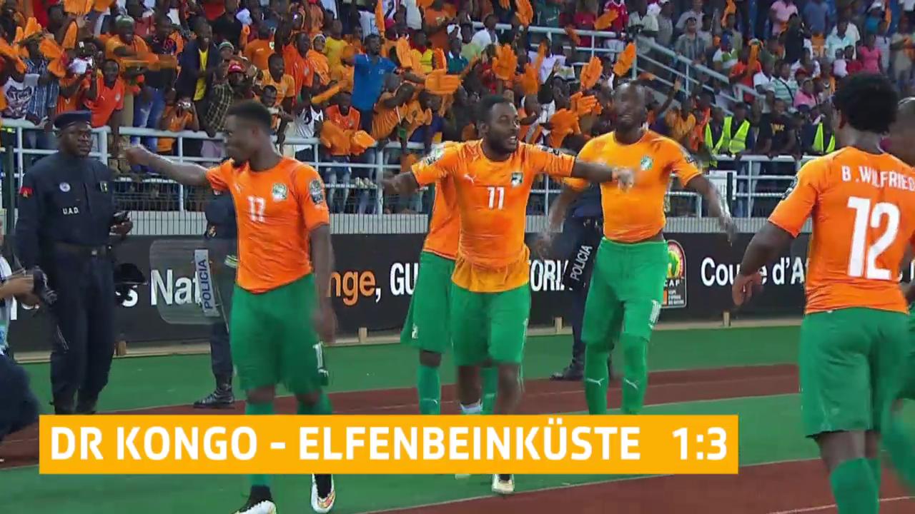 Afrika Cup 2015: Elfenbeinküste zieht in den Final ein