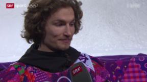 Video «Snowboard: Die Emotionen von Iouri Podladtchikov» abspielen