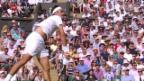 Video «Federer nach Kurzauftritt in der 2. Runde von Wimbledon» abspielen