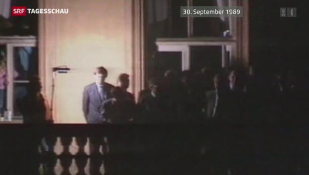 Video «Prager Botschaft Balkon» abspielen