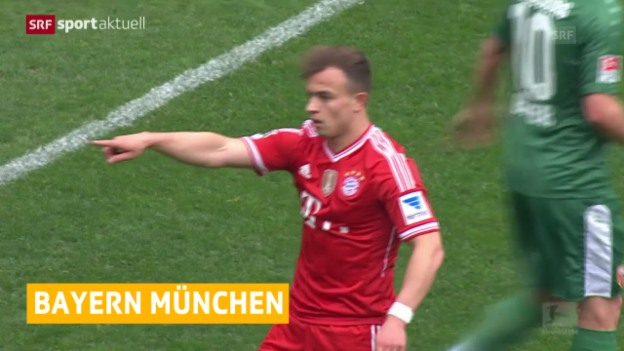 Video «Shaqiri verletzt sich bei Bayern-Niederlage (sportaktuell, 5.4.2014)» abspielen