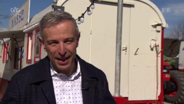 Video ««G&G Spezial»: Dani Fohrler zu Besuch bei der Zirkusfamilie Stey» abspielen