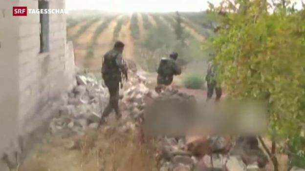 Video «Assad-Truppen auf dem Weg nach Aleppo» abspielen
