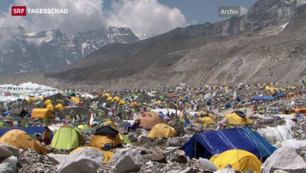 Video «Tote am Mount Everest» abspielen