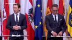 Video «Österreichs Regierung startet mit Skandalen» abspielen