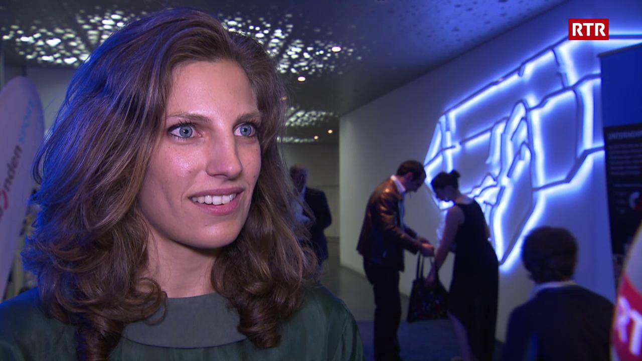 Elena Könz è sportista grischuna da l'onn