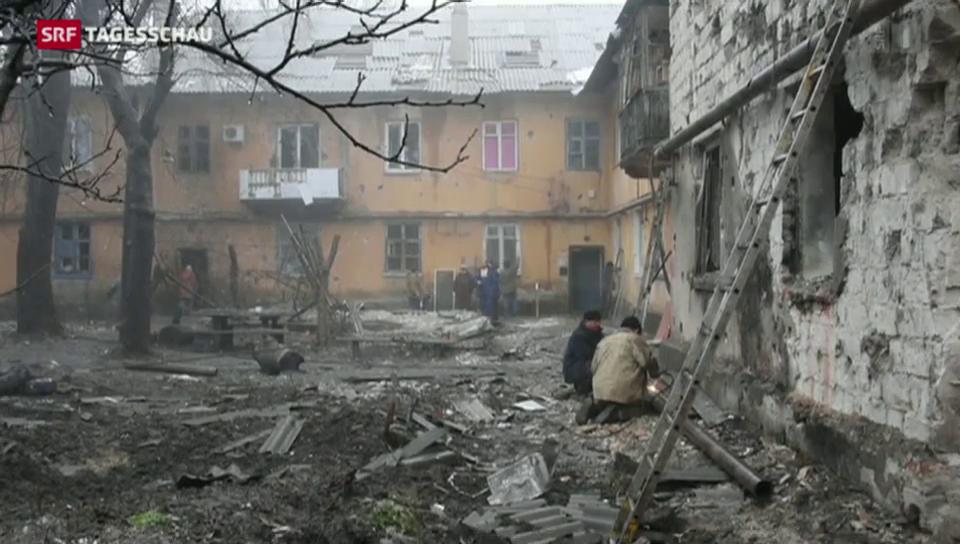 Ukraine stockt Truppenbestände auf