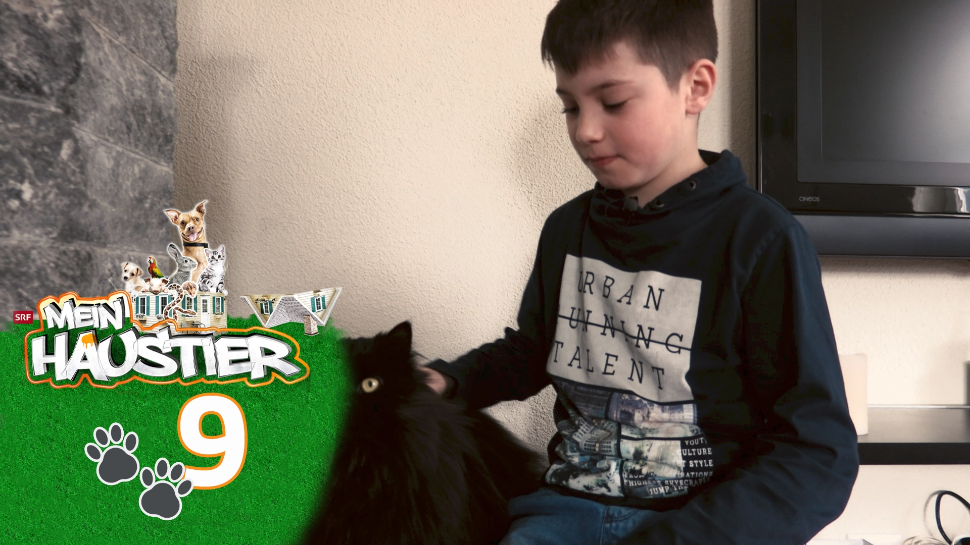 William und sein Kater Dusty