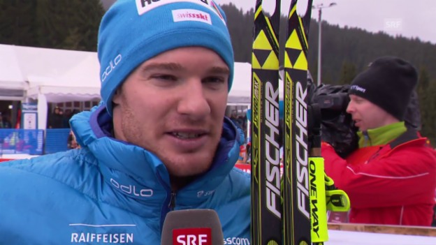 Video «Langlauf: Tour de Ski 2015, Schlussetappe, Dario Cologna zieht Bilanz» abspielen