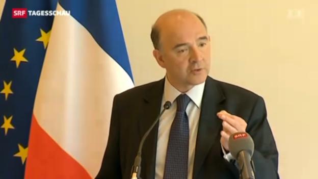 Video «Verstimmung zwischen Frankreich und der Schweiz» abspielen