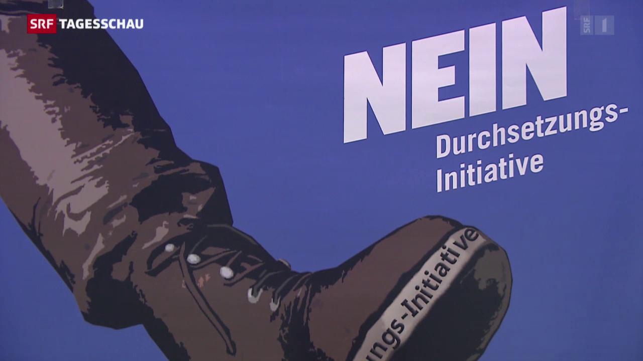 Nein-Komitees zur Durchsetzungsinitiative
