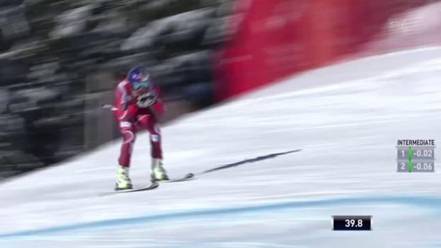 Video «Svindal fährt zum 7. Saisonsieg» abspielen