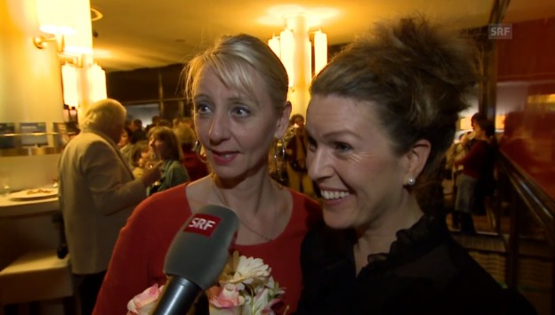 Video «Fritz Bisenz und Jasmin Clamor über ein Comeback der Acapickels.» abspielen