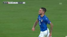 Link öffnet eine Lightbox. Video Italien mit Last-Minute-Sieg in Polen abspielen