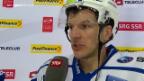 Video «Eishockey, NLA: Stimmen Davos - ZSC Lions» abspielen