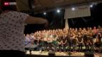 Video «Schweizer Jugend singt in Disentis» abspielen