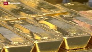 Video ««Goldinitiative gefährdet Stabilität des Frankens»» abspielen