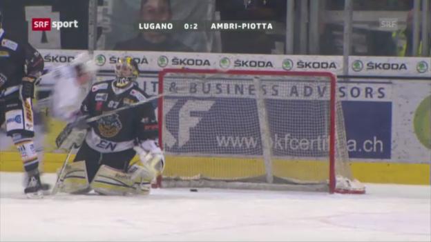 Video «Lugano - Ambri «sportaktuell»» abspielen
