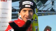 Video «Ammann gewinnt in Garmisch» abspielen