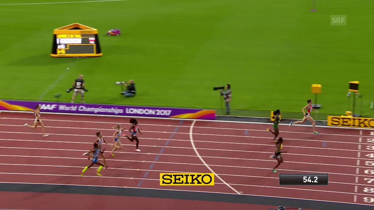 Schweizer 400-m-Hürden-Sprinterinnen überzeugen