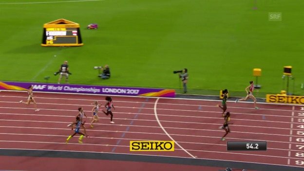 Video «Schweizer 400-m-Hürden-Sprinterinnen überzeugen» abspielen