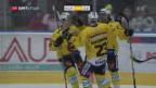 Video «Bern mit Overtime-Sieg in Ambri» abspielen