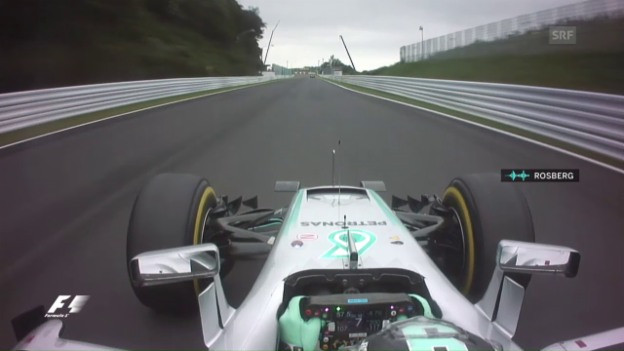 Video «Nach Pole-Fahrt: Rosberg gibt Cockpit-Interview» abspielen