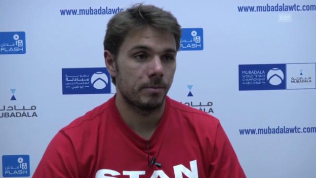 Video «Tennis: Interview mit Stan Wawrinka (französisch)» abspielen