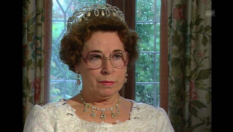 Queen-Double Jeannette Charles im Gespräch mit Kurt Aeschbacher