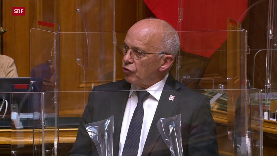 Maurer schlägt dem Wallis ein eigenes Obligatorium vor