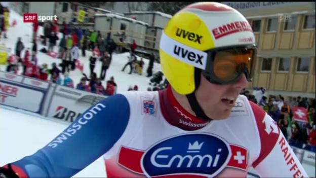 Video «Ski alpin: Schweizer bei Lauberhorn-Abfahrt enttäuschend («sportaktuell»)» abspielen