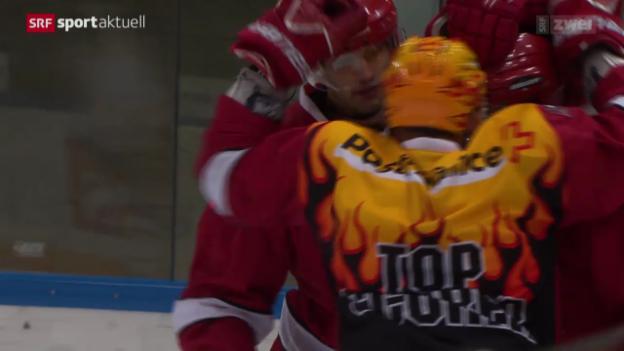 Video «Eishockey: NLA, Lausanne - Lugano» abspielen